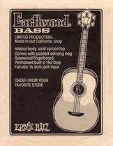 1972_бас-гитара «Earthwood»
