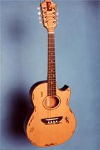 прототип мандолины «Earthwood»