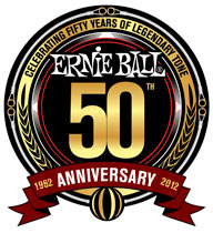 50-ий ЮБИЛЕЙ «ERNIE BALL»