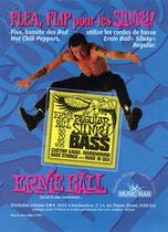 реклама струн «Slinky Bass»