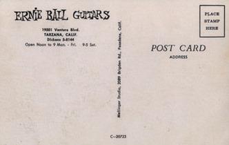 1958_Открытка из магазина Эрни Болла